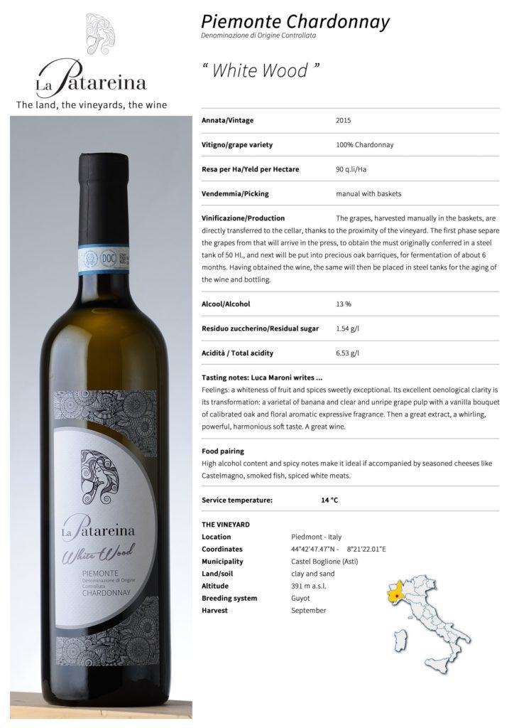 Chardonnay White Wood